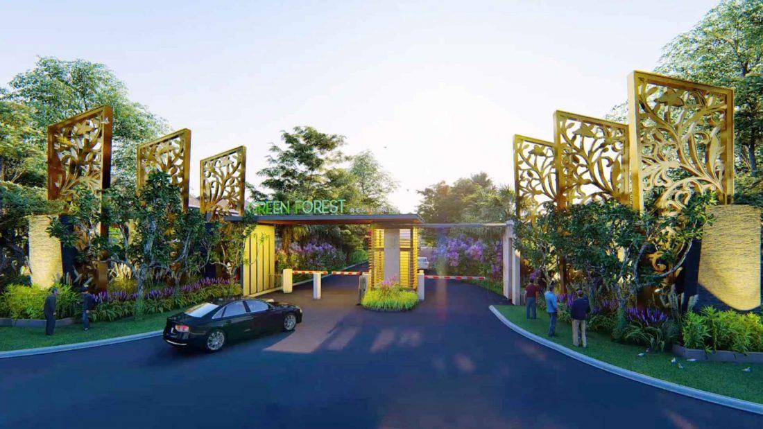 green forest auto gate pekanbaru